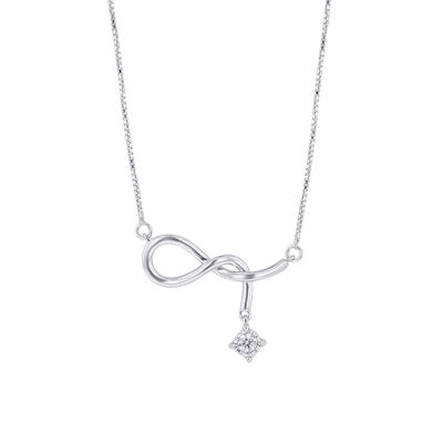 Silver Naughty Knot