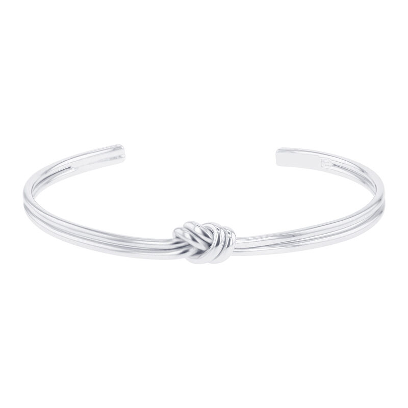 Silver Double Knot