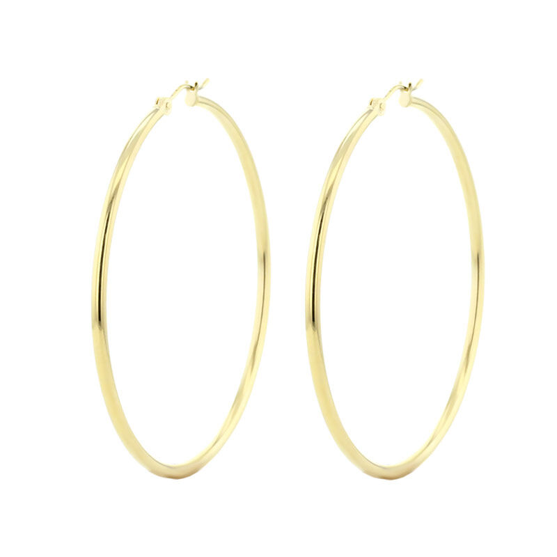 Thick Classic Gold Hoop