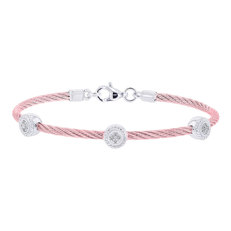 Triple Jenny Pink Cable