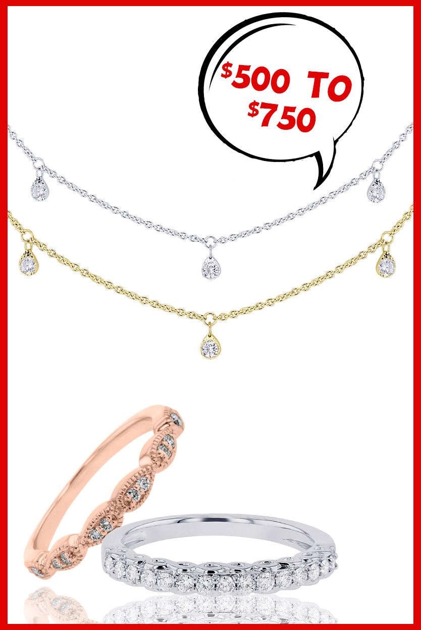 Shop Gifts $500 - $750